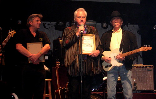 Bob Timmers, Mayf Nutter, Buck Owens, Rockabilly Hall of Fame